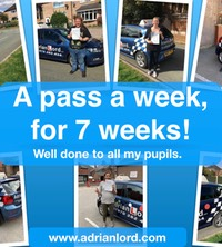 A pass a week, for 7 weeks
